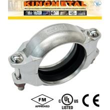 Aço inoxidável 304/316 Satinary extremidades sulcadas acessórios de acoplamento