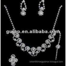 Latest bridal wedding jewelry set (GWJ12-543)