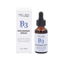 Private Label OEM/ODM Melao Skin Care Face Gold Serum Brightening Frim Skin Nicotinamide Serum With 20% Vitamin A