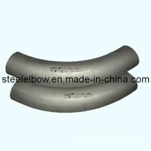 En acier au carbone galvanisé coudes pressé pressé coudes pour aspiration des poussières