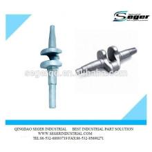 Cigüeñal de acero forjado modificado para requisitos particulares fábrica OEM