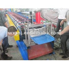 corrugado de panel de techo máquina formadora de rollos de acero