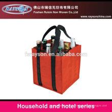 Umweltfreundliche Jute Tasche Weinflasche Tasche in China hergestellt