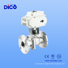 Flange Ball Valve with Electric Actuator Motor (Q941F-16P)
