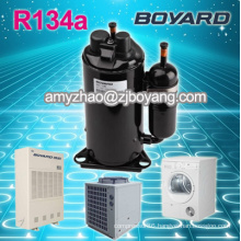 rotary compressor for heat pump with r134a