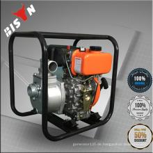 BISON CHINA TaiZhou Luftgekühlte Einzelzylinder-Einspritzung Diesel-Wasserpumpe mit Dieselmotor 170f