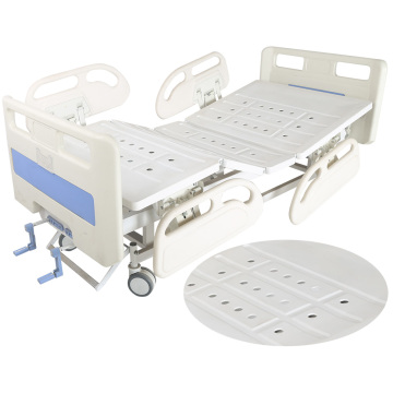 2 engkol manual peralatan hopsital asjustable bed