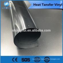 Good quality PU/PVC printable vinyl heat transfer vinyl under heat press
