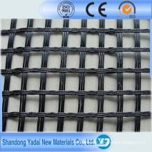 Preço plástico biaxial de Geogrid dos PP do polipropileno elástico forte