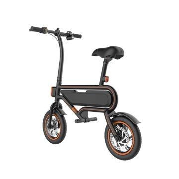 Bicicleta eléctrica de 350w de largo alcance de 14 pulgadas