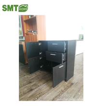 black side cabinet/shoe cabinet storage oak with good quality