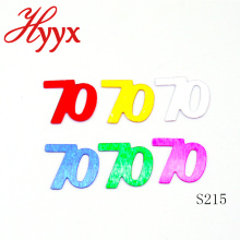 HYYX Surprise Toy Made In China 70 age birthday confetti