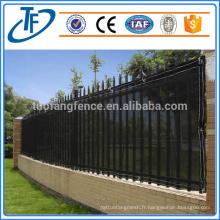 Revêtement en poudre électro-statique filet perforé filet de vent ou de poussière, clôture anti-vent, mur de rupture de vent