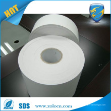 Etiqueta de etiqueta de vinil destrutível de uma impressão a cores, adesivo de casca de ovo em branco personalizado para impressão