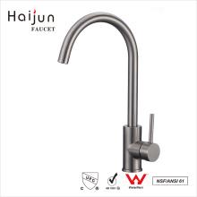 Haijun Precios al por mayor cUpc 0.1 ~ 1.6MPa único agujero de acero inoxidable de cocina grifo