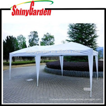 10'x20 'Wedding Party Impermeable Carpa Plegable Aparcamiento Gazebo Beach Canopy