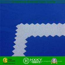Tela de tafetán de nylon revestida blanca impermeable de 210t