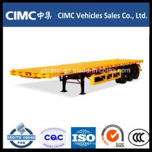 Camião Reboque Cimc Flatbed Trailer 3 Axles