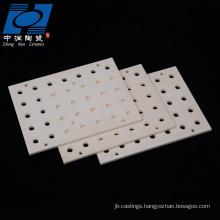 wear-resistience al2o3 ceramic burning plate