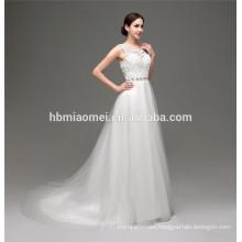 2016 off shoulder lace princess slim-line dubai muslim wedding dress