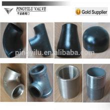 2015 novos produtos aço carbono butt solda tubo montagem tee
