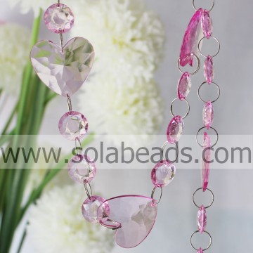 Top Selling 38MM & 18 MM Crystal Beading Kette Garland