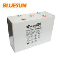 Bluesun deep long life high efficiency solar energy storage gel battery 2V1000Ah 1500Ah