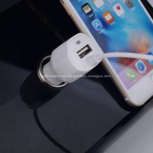 Cable del relámpago del cargador del coche de 5v 2.1a USB