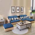 L-Shape Leather Upholstery Right Chaise Sectional Sofa