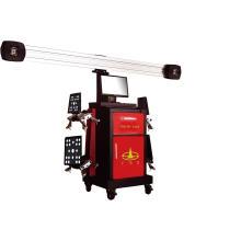 Instrumento de posicionamento 3D de quatro rodas para vagão