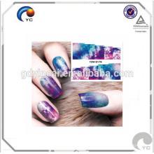 Высокое качество Подгонянные временные татуировки лист (Art Дизайн серия для ногтей наклейки)