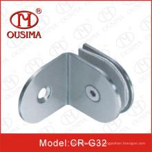 Hardware de la fijación del vidrio de la partición del cuarto de baño de 90 grados (CR-G30)