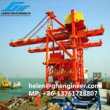 Grab Ship Unloader 600-1000T / H pour chargement et déchargement de marchandises en vrac
