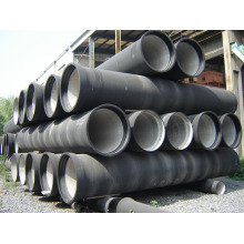 "ISO2531 K9 3 ""DN80 tubo de hierro dúctil"