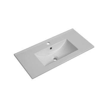 Bathroom Cabinet Ceramic Wash Basin