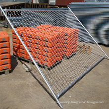 High Quality Hot DIP Galvanized Mobile Fence (Galvanized after Welding)