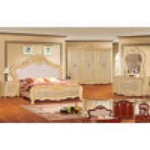 Cama antiga para mobília clássica do quarto (W805B)