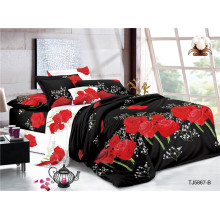 Textiles Polyester Plain Voile Printed Jacquard Bed Sheets
