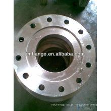 A105 aço carbono dn100 flange saliência