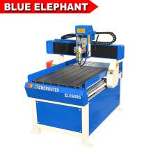 Advertising cnc router 6090 / mini wood design cutting machine for pcb / pvc / aluminum