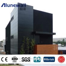 Alunewall Foyer anti-incendie pour mur intérieur / pvdf Série Glossy Panneau composite en aluminium ACP