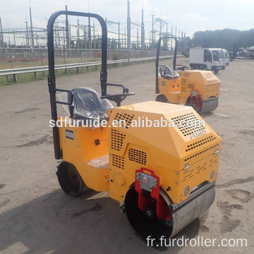 800kg Self-propelled Double Drum Vibratory Roller