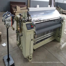 Water-Jet Weaving Loom Machine with Electronic Double Nozzle Feeder