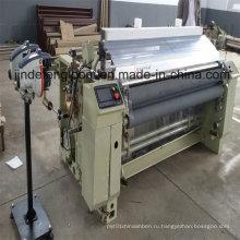 Водоструйная ткацкая машина с электронным двойным податчиком сопел