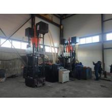 Machine de recyclage de ferraille de presse à briquettes hydraulique