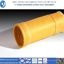 Bolsa de filtro no tejida del colector de polvo P84 para la central hidroeléctrica