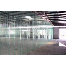 Cortina de PVC qualificada na sala de armazenamento a frio