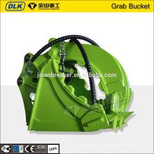 Hydraulic Clamp Bucket Grapple For Hyundai R210 R220 Excavator