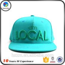 Dernier logo de broderie logo hip hop cap
