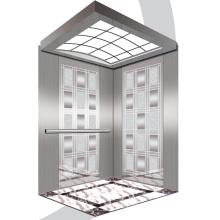Aksen Mirror Etched Machine Room Passenger Elevator J0338